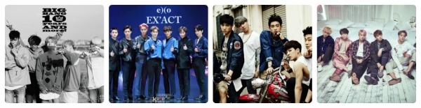 Nhóm nhạc nam Hàn Quốc nổi tiếng và được yêu thích nhất hiện nay