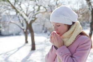 Bộ phận cơ thể cần được giữ ấm trong thời tiết giá lạnh