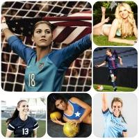 Nữ cầu thủ bóng đá xinh đẹp nhất thế giới