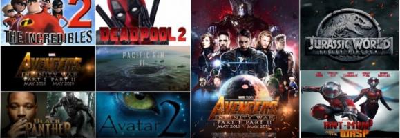 Phim điện ảnh có doanh thu cao nhất trong năm 2018