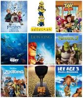 Phim hoạt hình có doanh thu phòng vé cao nhất thế giới