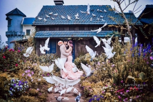 Phim trường chụp ảnh cưới đẹp nhất Hà Nội