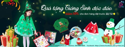 Cửa hàng quà tặng giáng sinh đẹp và độc đáo ở Hà Nội
