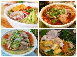 Top 6  quán ăn chuyên ẩm thực ba miền ngon nhất ở Hà Nội