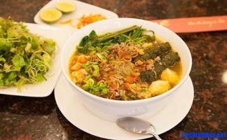 Quán bánh đa cua ngon nổi tiếng nhất Hải Phòng