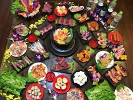 Quán buffet nướng giá rẻ chỉ dưới 100.000 đồng tại Hà Nội