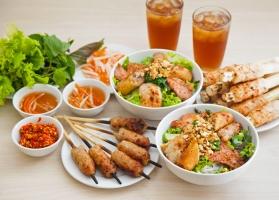 Quán bún thịt nướng ngon nhất tại Sài Gòn