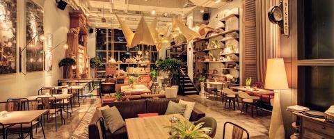 Quán cafe shop cực chất tại Sài Gòn