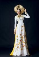 Quốc phục Việt Nam rực rỡ trong các cuộc thi hoa hậu Hoàn vũ Quốc tế