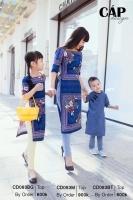 Shop áo dài cách tân cho mẹ và bé đẹp lung linh trong dịp Tết