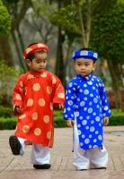 Shop bán áo dài trẻ em đẹp nhất Hà Nội