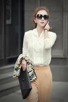 Shop bán áo sơ mi trắng nữ TPHCM được chị em lựa chọn nhiều nhất