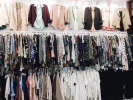 Shop quần áo hàng thùng được ưa chuộng nhất Sài Gòn