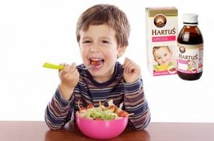 Siro cải thiện chứng biếng ăn, kích thích ăn ngon tốt nhất cho bé.