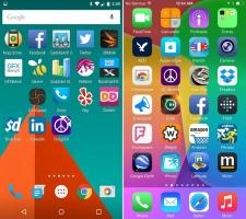 Sự khác biệt cơ bản giữa hệ điều hành iOS và Android