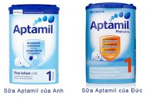 Loại sữa tốt nhất cho trẻ sơ sinh cho bé dưới 1 tuổi