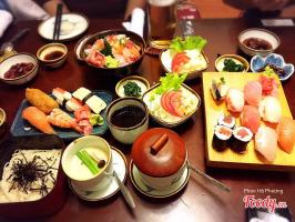 địa chỉ thưởng thức ẩm thực Nhật Bản ngon nhất trên phố Kim Mã