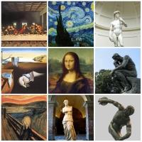 Tác phẩm nghệ thuật nổi tiếng nhất thế giới