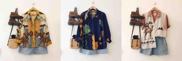Shop bán áo sơ mi vintage đẹp nhất cho bạn