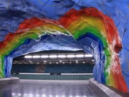 Ga tàu điện ngầm đẹp nhất thế giới