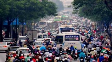 Thói quen xấu của người tham gia giao thông dẫn đến kẹt xe