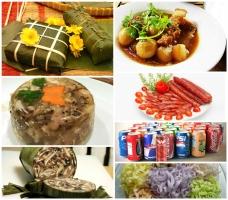 Thực phẩm ngày Tết khiến bạn tăng cân chóng mặt