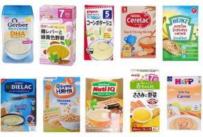 Thương hiệu bột ăn dặm Nhật Bản được yêu thích nhất trên thị trường hiện nay.