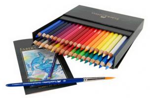 Thương hiệu bút chì màu được tin dùng nhất hiện nay