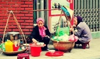 Thương hiệu khu phố ẩm thực nổi tiếng Hà Nội