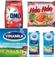 Thương hiệu hàng tiêu dùng phổ biến nhất Việt Nam