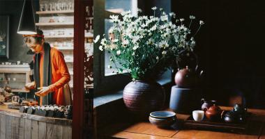 Quán café tập thể cũ view đẹp ngỡ ngàng tại Hà Nội