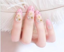 Tiệm nails đẹp theo phong cách Hàn Quốc ở TP.HCM