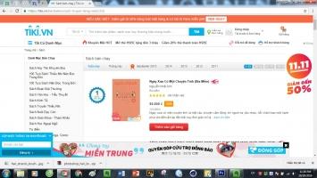 Trang web bán sách online uy tín nhất Việt Nam
