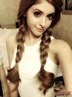 Kiểu tóc đơn giản cho bạn gái năng động