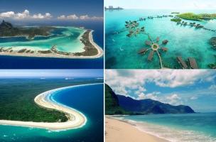 Thiên đường du lịch biển trên thế giới