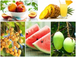 Trái cây giải độc tốt nhất mùa hè