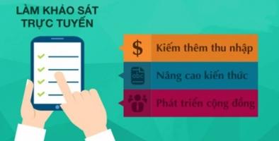Trang khảo sát kiếm tiền hiệu quả mà bạn nên tham gia