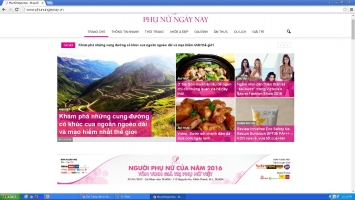 Trang web tin tức tốt nhất dành cho phụ nữ
