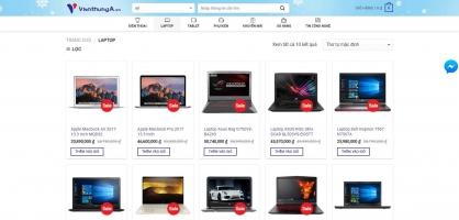 Trang web bán máy tính/laptop uy tín nhất hiện nay
