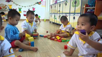 Top 9  Trò chơi củng cố kiến thức trong các tiết học cho trẻ mầm non hay nhất