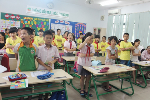 Trò chơi khởi động bằng cử chỉ, chơi tại chỗ cho học sinh tiểu học hứng thú vào tiết học