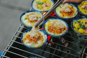 Quán trứng chén nướng ngon nhất tại Hà Nội