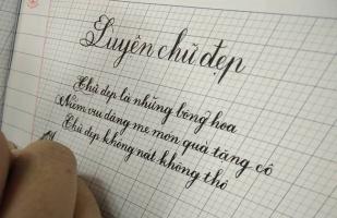 Trung tâm luyện chữ đẹp tốt nhất Sài Gòn
