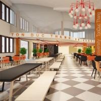 Trường đại học có canteen sang chảnh và thoải mái nhất ở TP. HCM