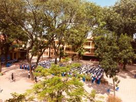 Trường PTTH có khung cảnh sư phạm đẹp tại Hà Nôi