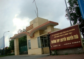 Trường THPT tốt nhất tỉnh Hải Dương