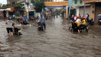 Tuyến đường bị ngập nặng nhất ở TP. HCM trong mùa mưa bão