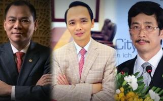 Tỷ phú giàu nhất Việt Nam trên sàn chứng khoán 2017