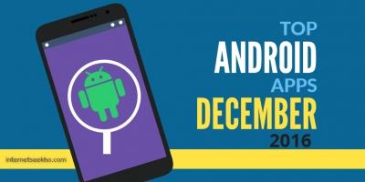 Ứng dụng Android tuyệt nhất tháng 12 năm 2016