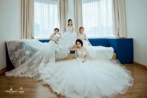 Kiểu váy cưới đẹp nhất dành cho ngày trọng đại của mỗi cô gái